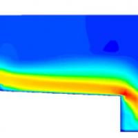 Modelación a través de la Fluidodinámica Computacional de Flujos y Estructuras